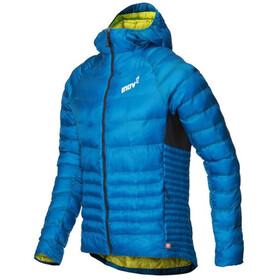inov-8 Thermoshell Pro Jas met Doorlopende Rits Heren, blue/green
